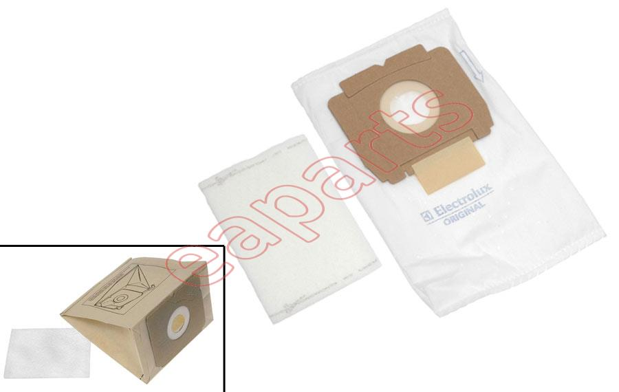 Original Hoover U3450 Vacuum Cleaner Bag Pack of 5 /& Filter