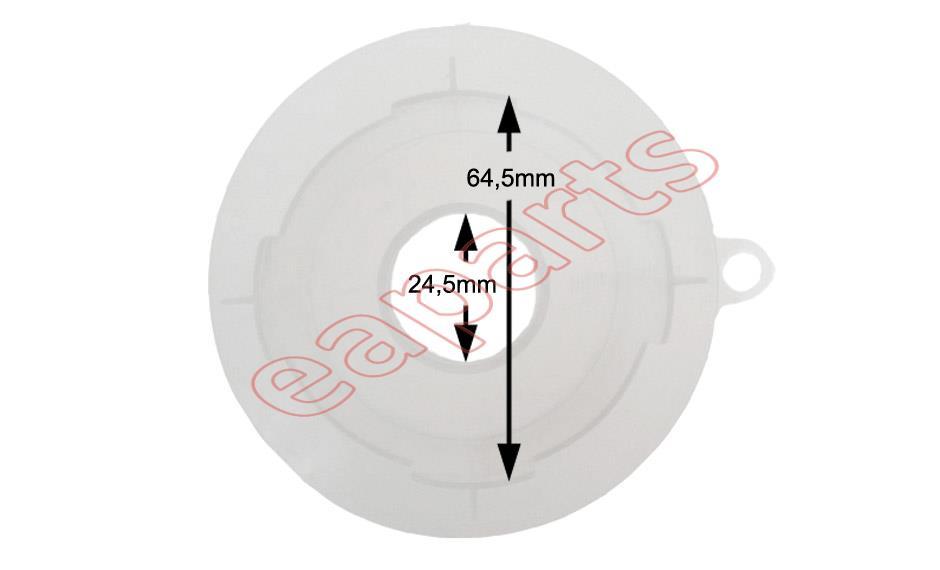 www.eaparts.gr - Χωνί γιά το αλάτι πλυντηρίου πιάτων MIELE original ... 8e3cc238853
