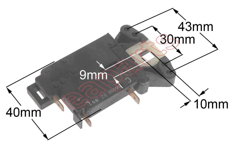 Washing Machines Dryers Electric Locks Thermal Ariston Machine Wiring Diagram Door Lock For Indesit Replaced From 32713