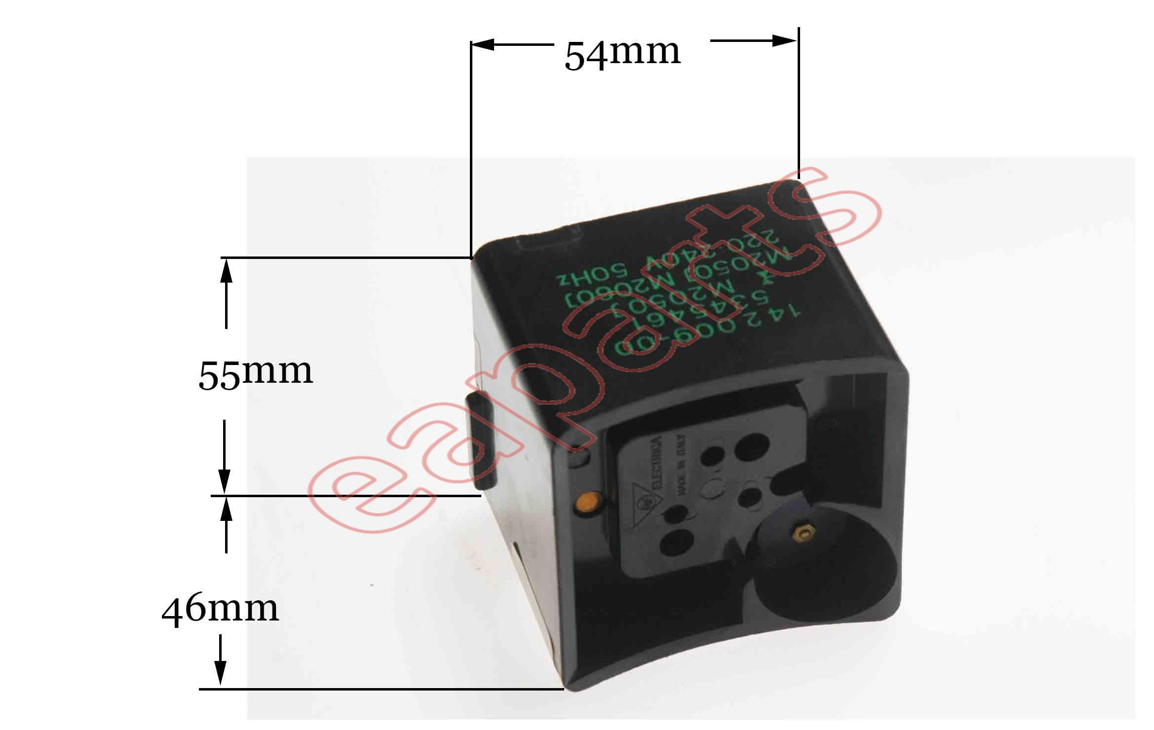 Relay With Thermic Compressor M2050 For Switch In Refrigerators Refrigerator Universal Discontinued