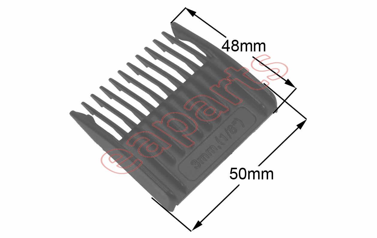 Χτενάκι (λεπτό - 3mm) κουρευτικής μηχανής ROWENTA (TN5020) original ... 13b33387a38