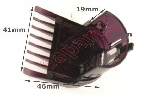 Χτενάκι (για το μούσι) -μικρό- ξυριστικής μηχανής PHILIPS original (QC5530) 378c3ec4be1
